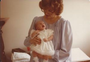 Amanda and mom