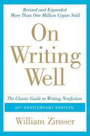 On Writing Well Zinsser