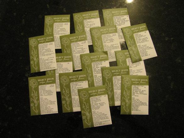 Seed order (5)