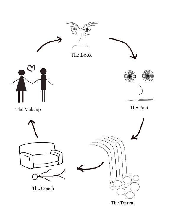 The Look Cycle © John W Nichols 2016