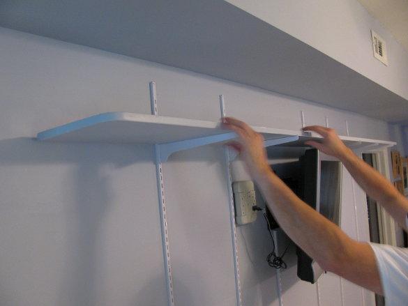 Wall of Shelves (9)