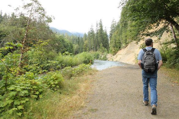 Hiking at Dosewallips © Shawn Rae Nichols