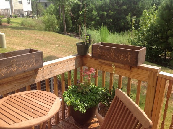 Container Gardening Railing Boxes (1)