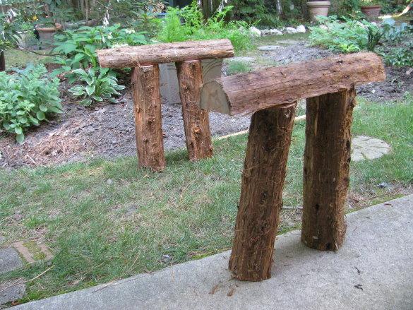 Log pieces