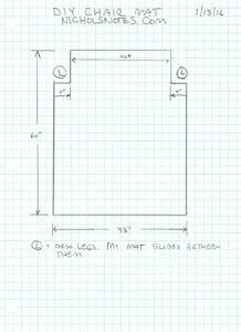 Office Chair Mat Plan