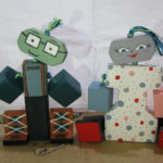 Wooden Toy Figures (2)