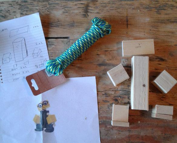 Wooden Toy Figures (5)