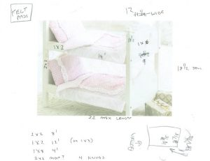Doll Bed Plan