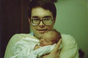 Amanda and dad