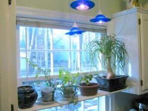 DIY Kitchen Plant Shelf Final