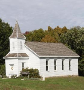Picture of a country church