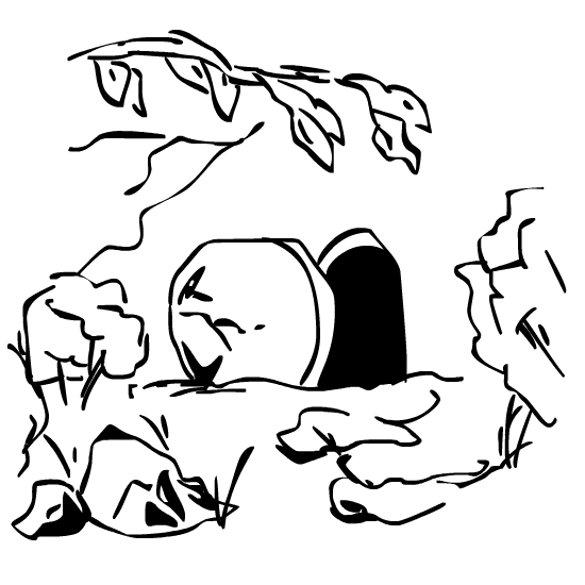 Source: http://www.clipartbest.com/empty-tomb-clip-art