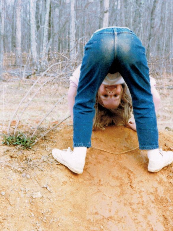 Amanda in the Mud