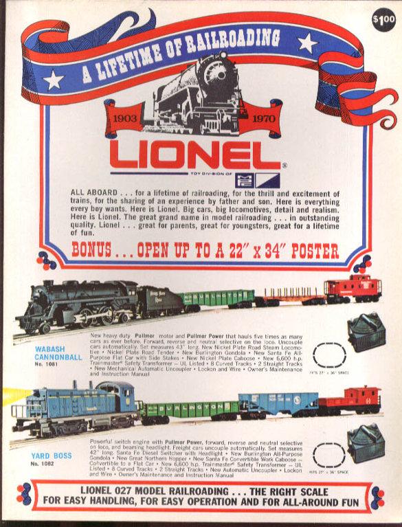 Lionel 1970