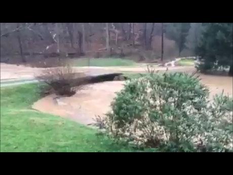 Angel Fork Flood 2015 - Courtesy of Barbara and Walt Martin