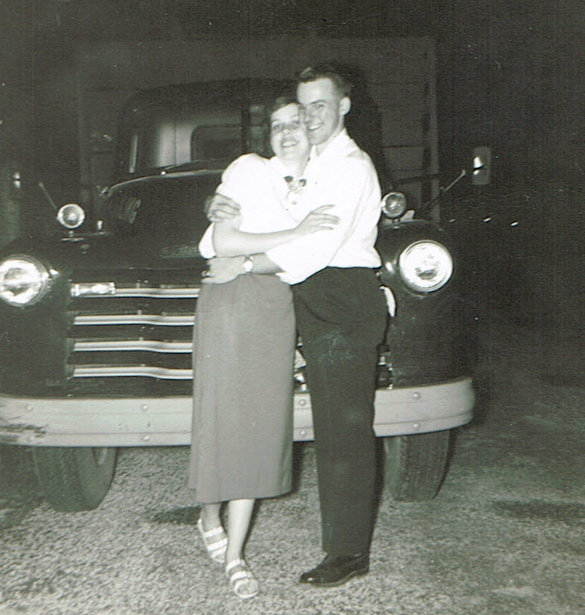Dad and Mom Honeymoon