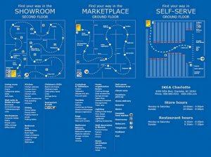 IKEA Charlotte Floor Map