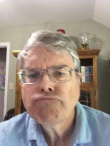 Blurry Selfie Face