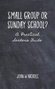 Small Group Or Sunday School Cover Blog