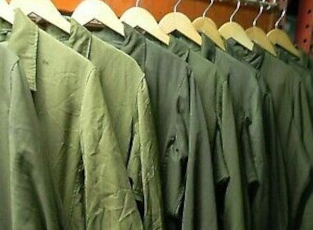 Coveralls on Rack