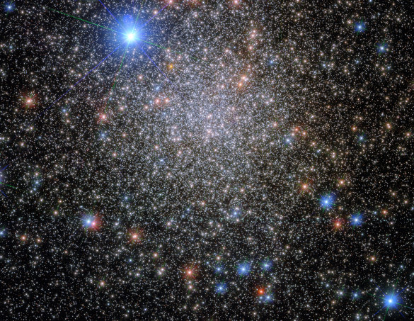 This image shows the globular cluster NGC 6380, which lies around 35 000 light-years from Earth, in the constellation Scorpio (The Scorpion).